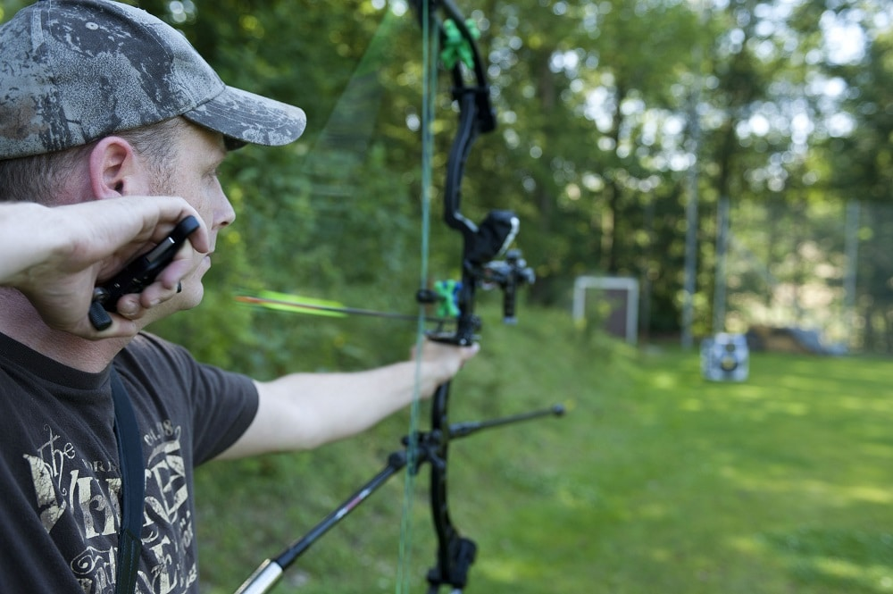 Compound Bow Stabilizer Setup