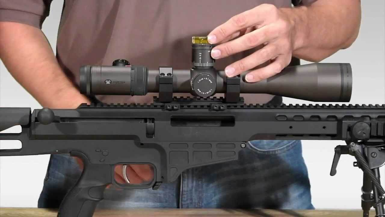 Mounting a scope